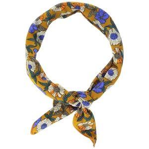 Accessories - Yellow Daisy Neckerchief /Hair Scarf Tie Bandana